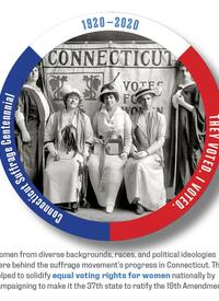 Equal voting rights sticker given out in Connecticut